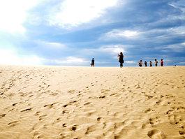 Dunes de sable de Tottori