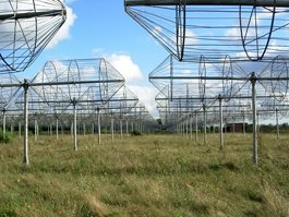 Ukrainian T-shaped Radio telescope, second modification
