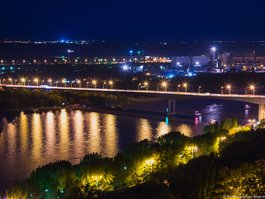 Voroshilovsky bridge
