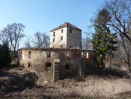 Zamek w Ciepłowodach