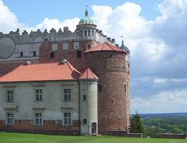 Zamek od błoni