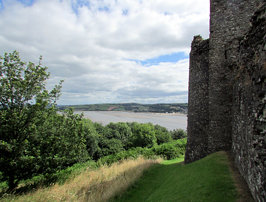 River Towy from Llansteffan Castle