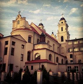 Стандартный нестандартный вид на Архикафедральный собор Святого Имени Пресвятой Девы Марии #minsk