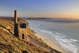 St Agnes Head, Cornwall. Summer Evening