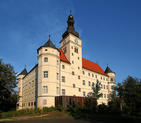 Schloss Hartheim, seen from the west