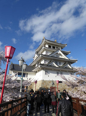 Gifu Castle and Sunamata castle