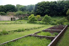 Walled Garden near Dunraven Bay