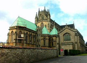 Basilica of St Gregory the Great or Downside Abbey, Stratton-on-the-Fosse, Somerset, England