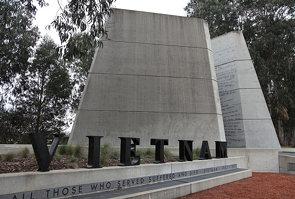 Vietnam War Memorial, Canberra, Australia.
