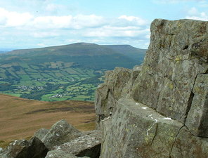 Sugar Loaf - from the summit