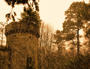Craigend Castle Mugdock Park