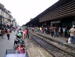 008 Wongwian Yai Railway Station