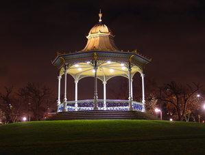 Rotunda by the River at Night
