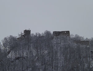 Bergruine Gösting, Graz, Austria