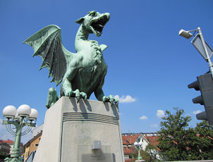 Dragon, Dragon Bridge, Ljubljana
