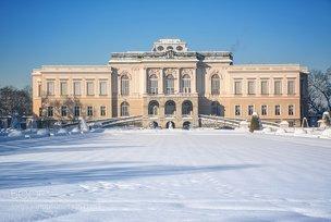 Schloss Klessheim im WInter