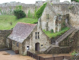 Carisbrooke Castle, Isle Of Wight, UK