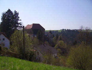 Burg Pürnstein von oben