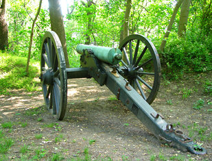Civil War Cannon at Fort Marcy Park