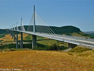 Puente De Millau Francia.