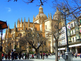 005 Segovia: Cathedral and Plaza Mayor