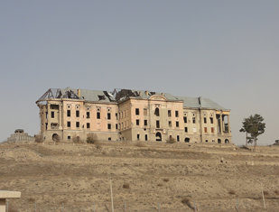 Ruins of a palace near the Kale-i Muslim village, Kabul