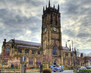 Leeds Parish Church HDR