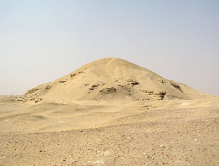 The pyramid of Amenemhet I at Lisht