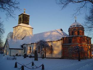 Spånga kyrka sida