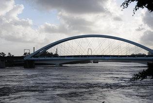 0500_Rail_Bridge_frm_North_Quay_12_Jan_2011_Flood_Brisbane_QLD