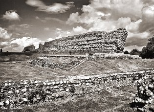ROMAN FORT, Richborough, Kent