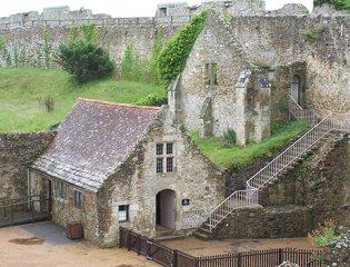 Carisbrooke Castle, Isle Of Wight, UK