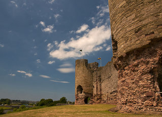 Rhuddlan Castle Walls