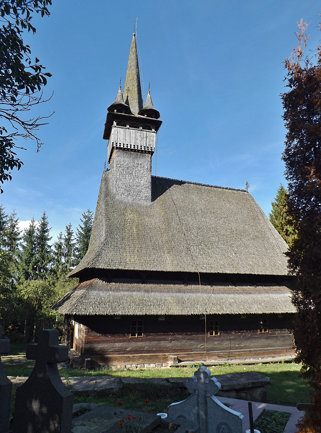 Budești Wooden Church.