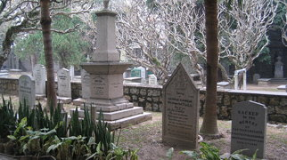 Old Protestant Cemetery in Macau>