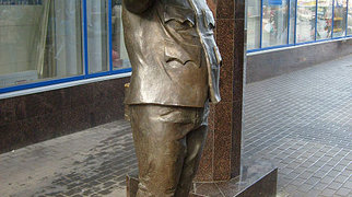 Памятник бравому солдату Швейку (Санкт-Петербург)>