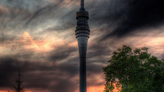 Dresden TV tower>