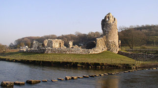 Ogmore Castle>