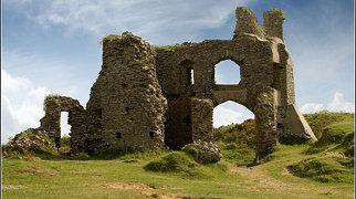 Pennard Castle>