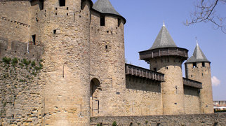 Castle of Carcassonne>