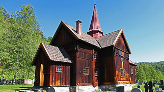 Rollag Stave Church>