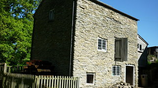 Mortimer's Cross Water Mill>