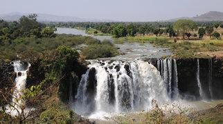 Blue Nile Falls>
