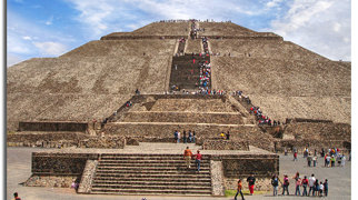 Pyramid of the Sun>