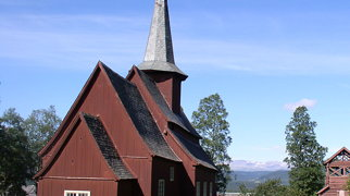 Hegge stave church>
