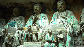 Dazu Rock Carvings>