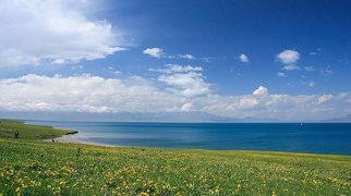 Lake Sayram>