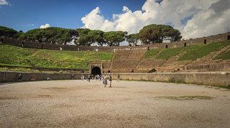Amfiteáter v Pompejach>