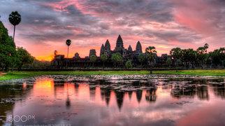 أنغكور وات>
