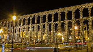 Aquädukt bei Segovia>